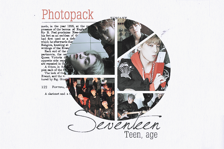 PHOTOPACK . SEVENTEEN TEEN. AGE by Xioelgji1911