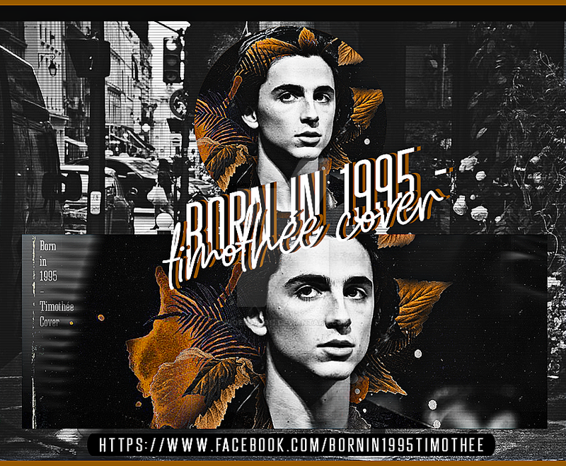 #timothee_chalamet . Born in 1995 - Timothee Cover by Xioelgji1911