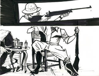 The Safari - A Pretend Comic 1 by ChrissyDelk