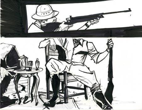 The Safari - A Pretend Comic 1