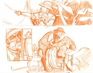 The Safari - A Pretend Comic 2 by ChrissyDelk