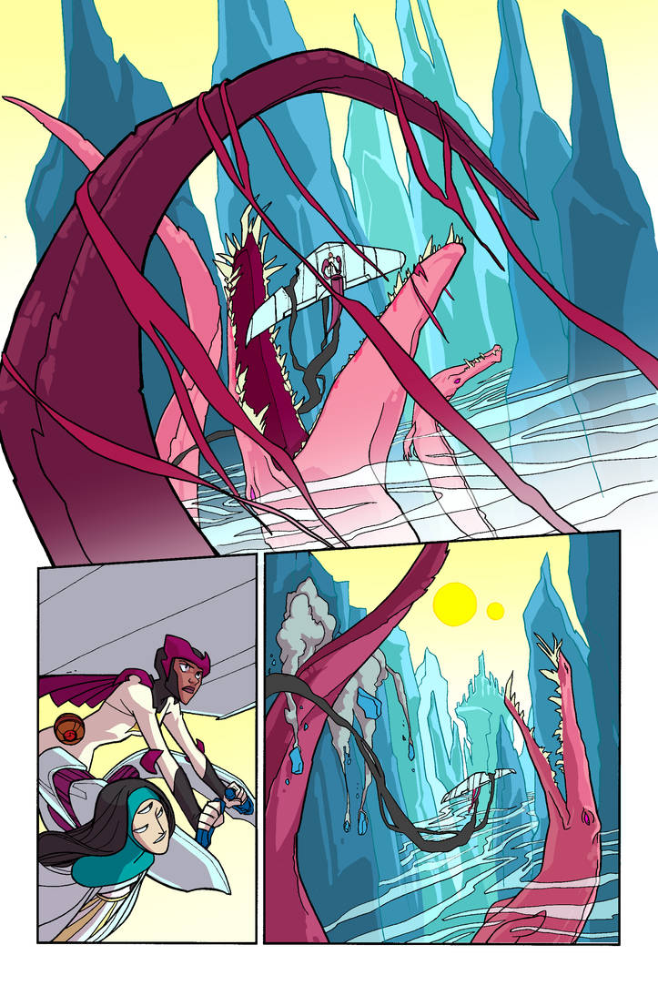 MAQ Issue 1 Page 1 No Dialog! by ChrissyDelk