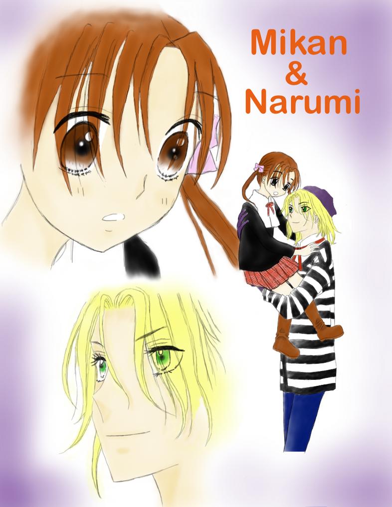 Mikan and Narumi-sensei by OtakuKippgirl