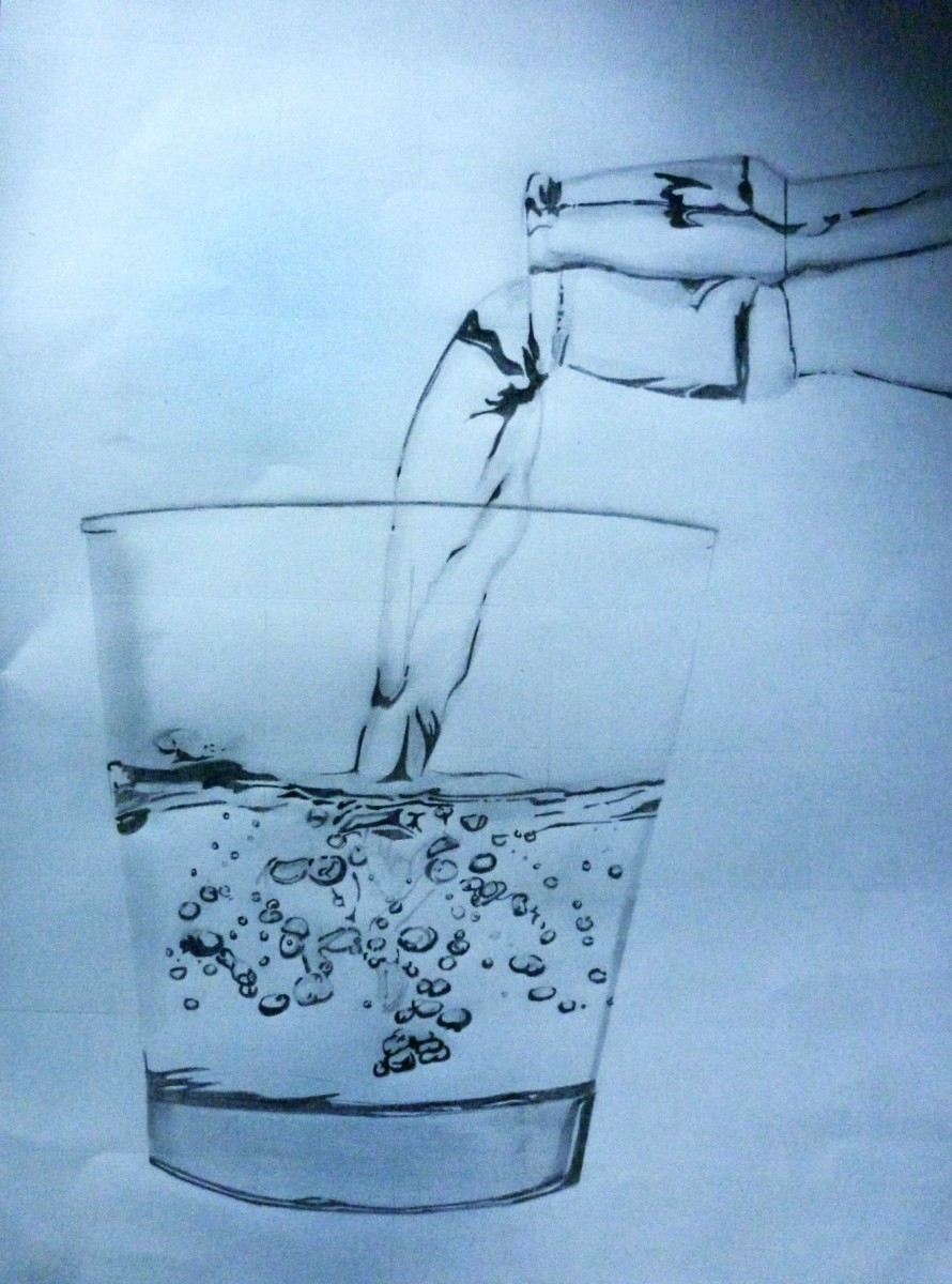 Glass of Water by anoop4334 on deviantART