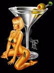 Genie Martini, Pin Up