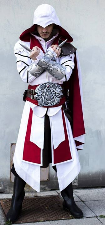 Ezio Auditore From Florence Ac Brotherhood Cospl By