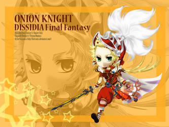 Dissidia FF: Onion Knight by Fortranica
