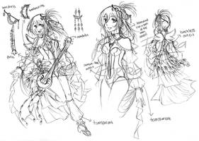 Honoka OCC design concept by Fortranica
