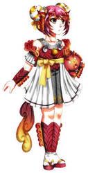 IA: Aura Halloween Costume by Fortranica