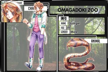 Omagadoki Dobutsuen: Quorgel by Fortranica