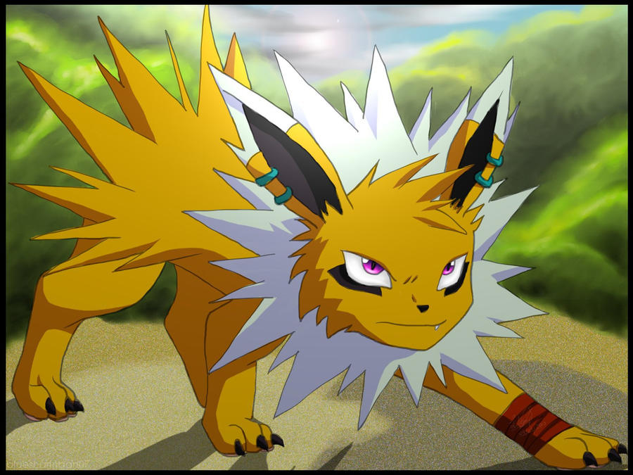 fuse the jolteon by bluesharingan07 on deviantart
