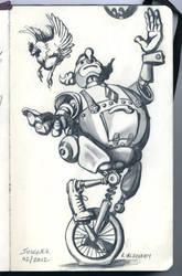 Juggler by dickdavid
