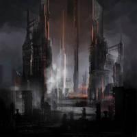 Circle of Dust - debut album art by Ninja-Jo-Art