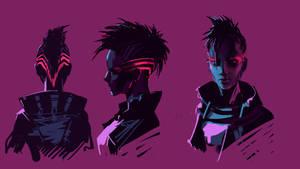 Oblivia concept sketch by Ninja-Jo-Art
