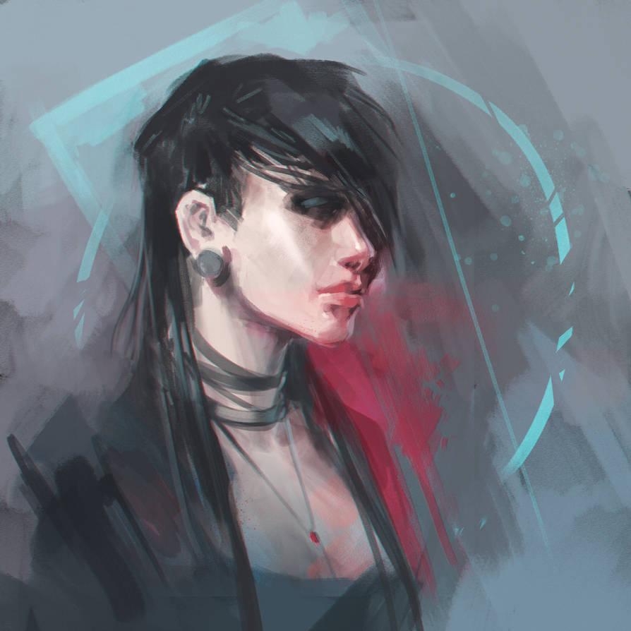 Girl by Ninja-Jo-Art