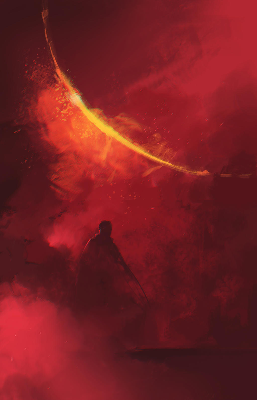Red Planet sketch by Ninja-Jo-Art
