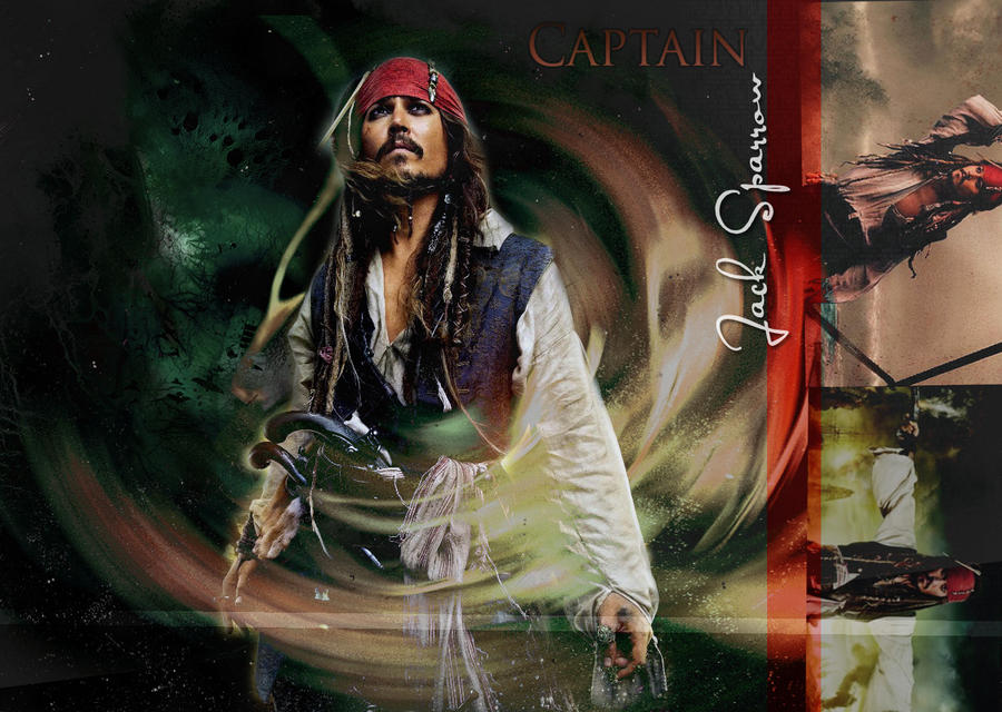 captain jack sparrow wallpaper by litlemusa on DeviantArt