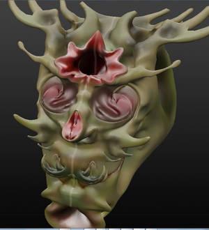 face creature