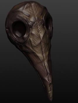 Leather Plague Mask
