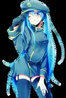 miku hatsune render by verosakagami