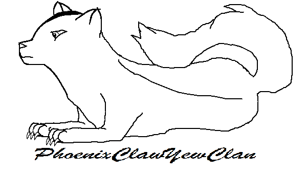 Free Cat Laying Down Drawing