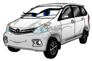 cars OC: all new Mia Avanza by auveiss