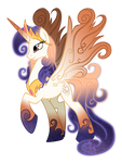Queen Galaxia, mother of celestia and luna