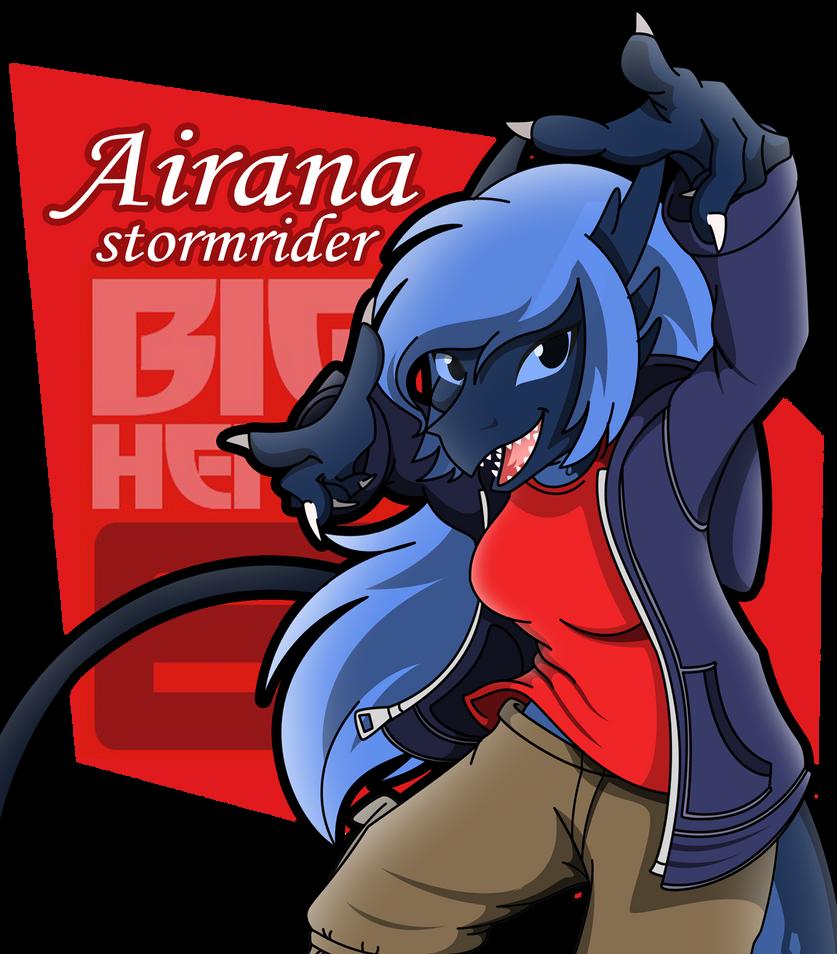 Airana big hero 6 ID by lizzytheviking