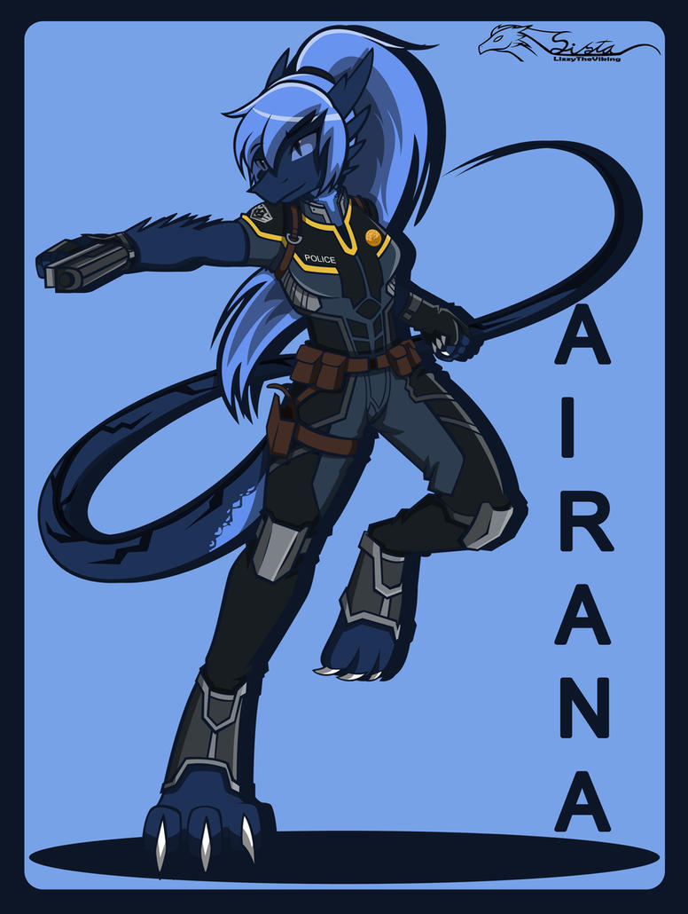 Airana..... ice police by lizzytheviking