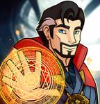 Doctor Strange Poster Redraw