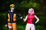 naruto cosplay . Sakura Haruno cosplay