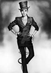 Bill Kaulitz for GQ by anokaxlegolas