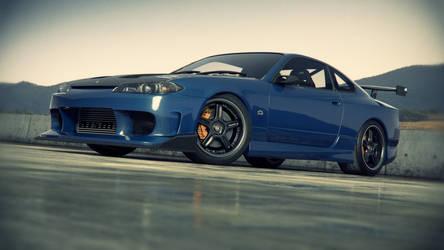 Nissan Silvia S15 outdoor