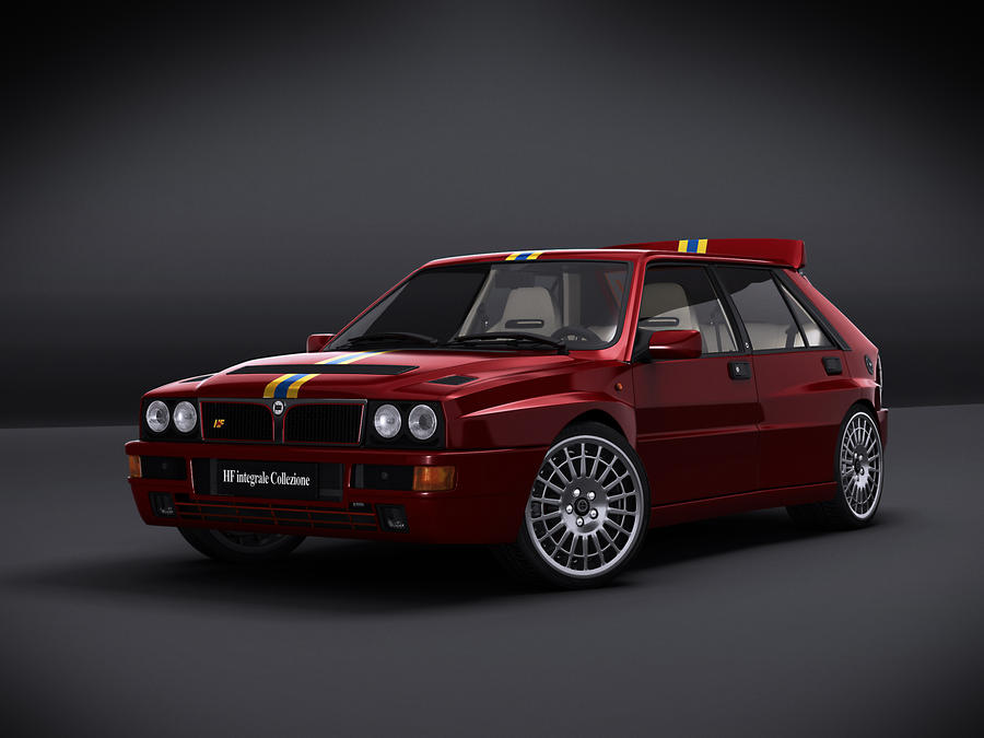 lancia hf integrale collezione by nasg85 on deviantart