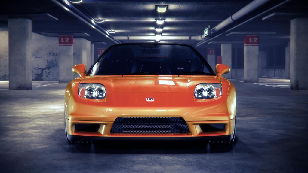 Honda nsx orange front by nasg85 on deviantart for Honda owner login