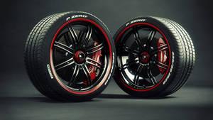Pagani Zonda Cinque wheel