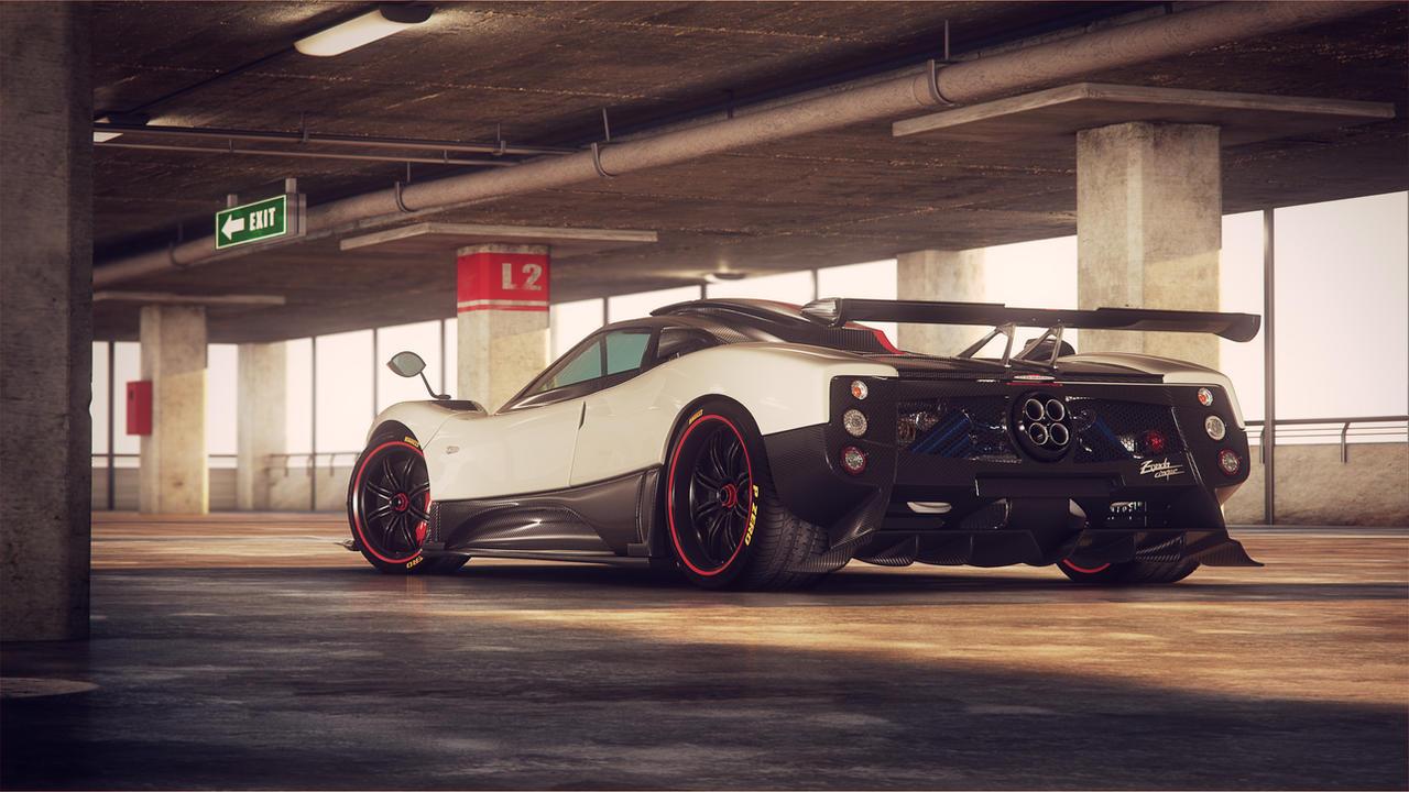 Pagani Zonda Cinque Garage by NasG85