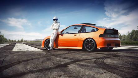 Honda CRX Stiggy by NasG85