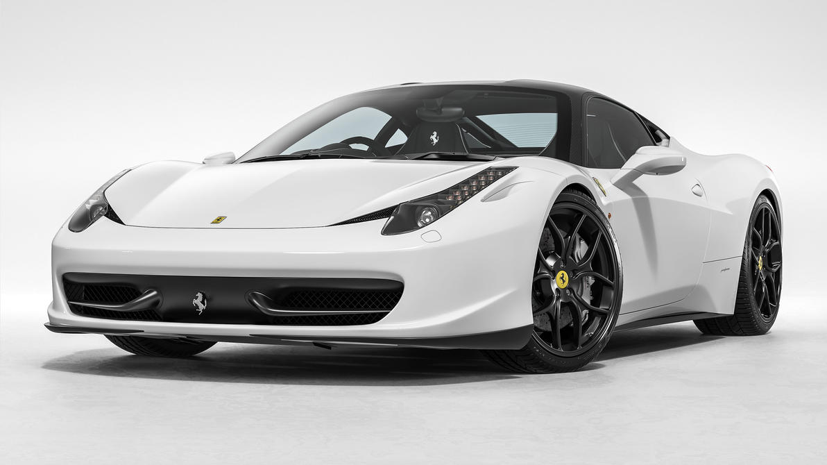 Ferrari 458 Italia Novitec Rosso White 01 By Nasg85 On