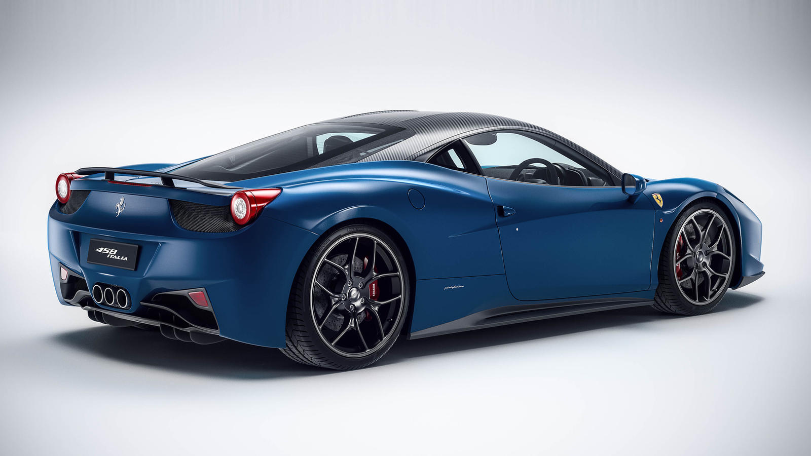 Ferrari 458 Spider Navy Blue