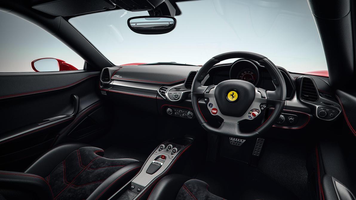 Ferrari 458 italia Novitec Rosso Interior by NasG85 on ...  Ferrari 458 ita...