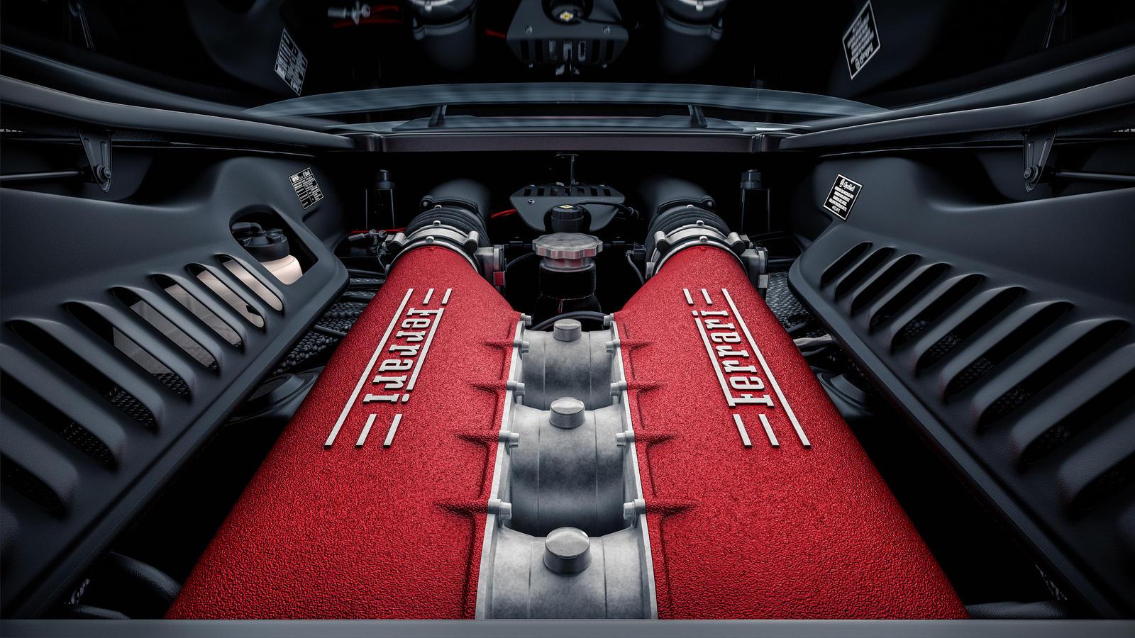 Ferrari 458italia powerplant by NasG85