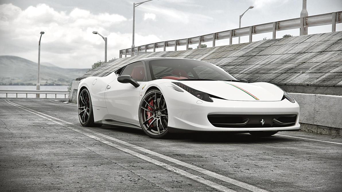 Ferrari458italia_Seaside_01 by NasG85