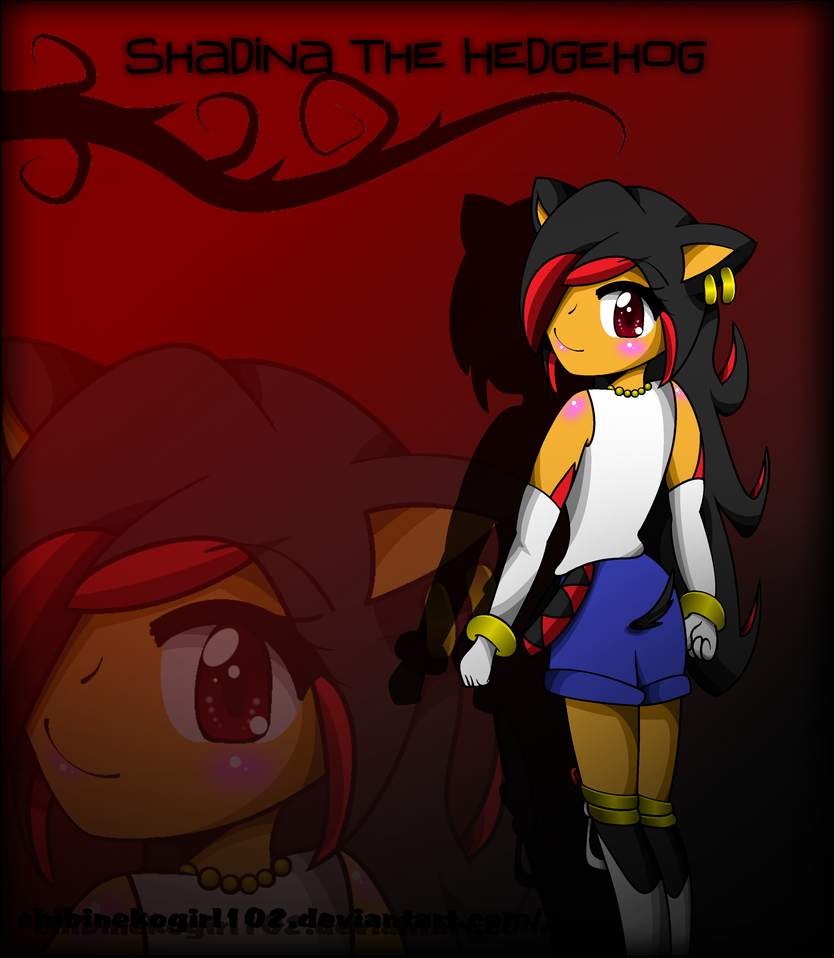 Shadow the hedgehog human girl - photo#16