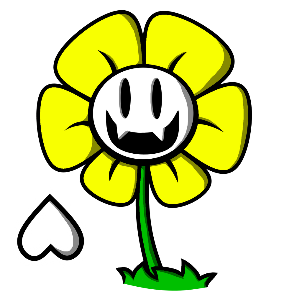 Undertale Flowey The Flower by chibinekogirl102 on DeviantArt