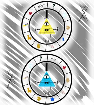 Cipher Wheel: Gravity Falls + Reverse Falls