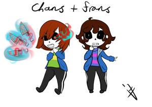 Undertale: Chans + Frans - Fusions
