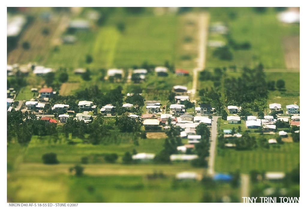Tiny Trini Town by stonemx
