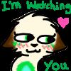 I'm watching yoooou~ by Doom-Duck