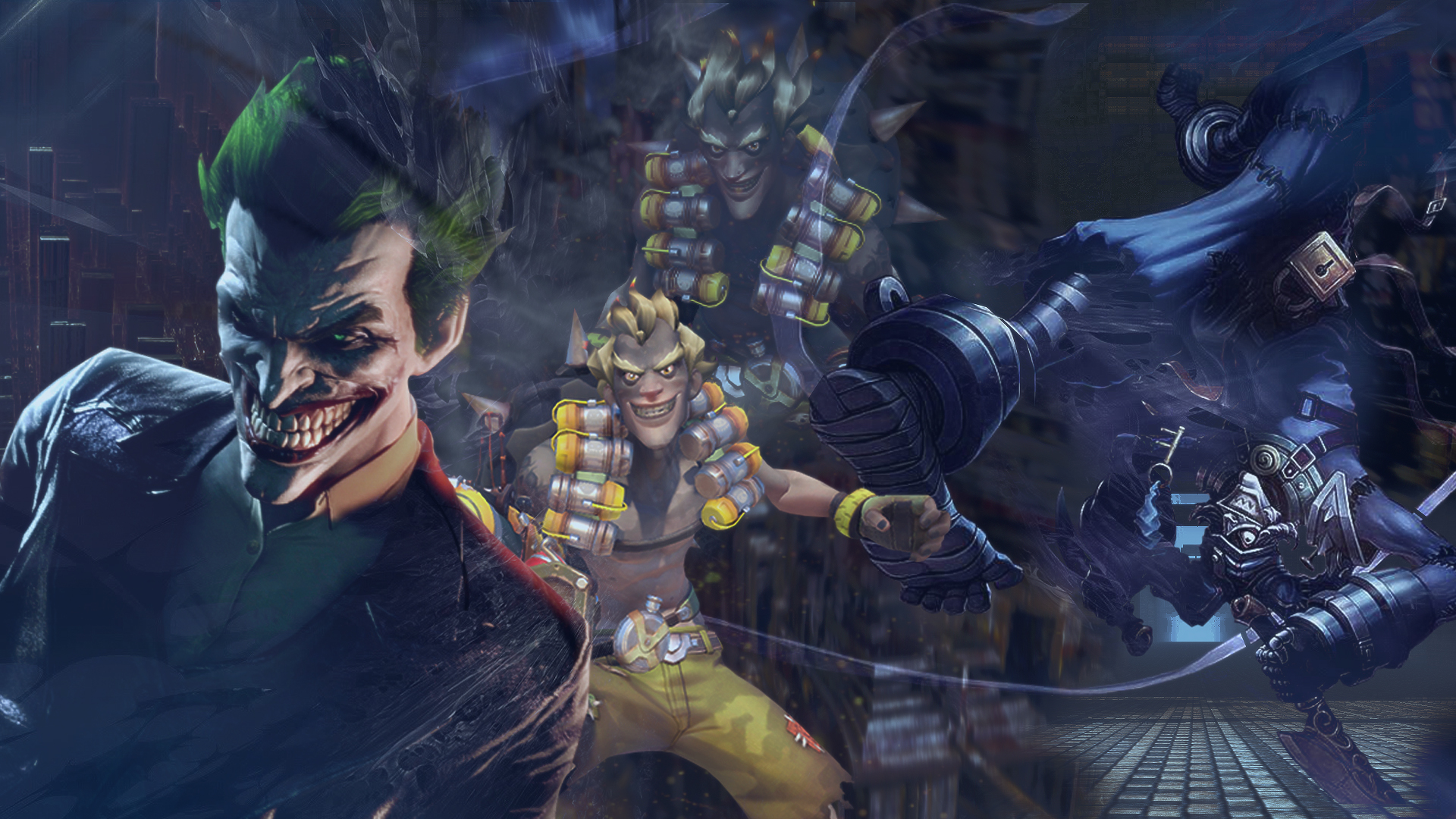 Top Wallpaper Mac Joker - joker_junkrat_shaco_wallpaper_by_t62pac-dafd6zr  Collection_75633.jpg